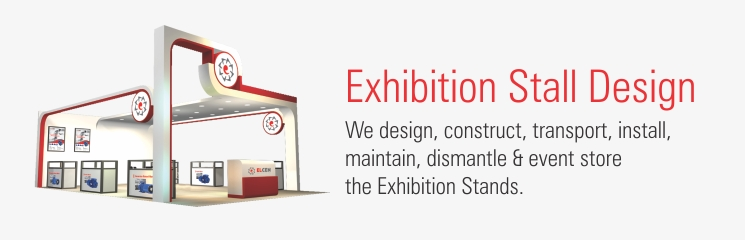 Exhibition Stall Design In Vadodara : Exhibition stall booth design builder production